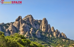 Montserrat mountain and its attractions